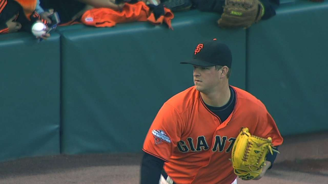 Giants have Cain skip traveling to Toronto