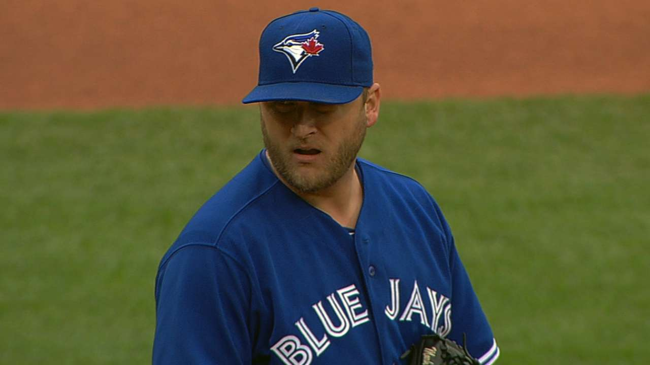 Buehrle brings out his best in Blue Jays' win