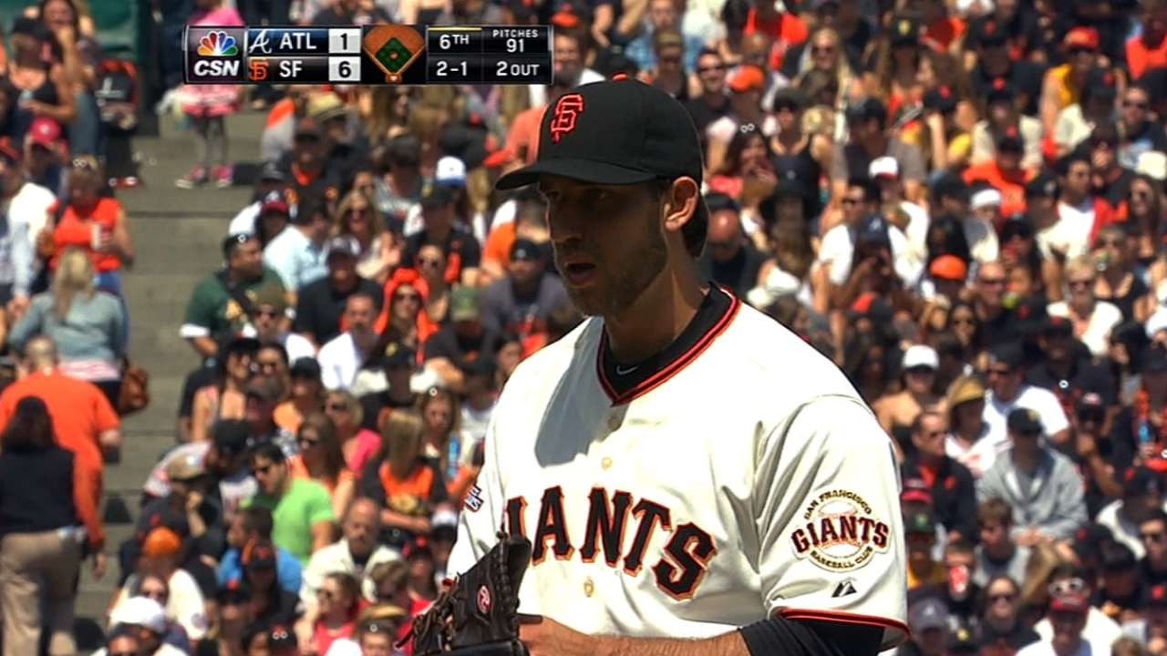 Giants' rotation struggles a red flag