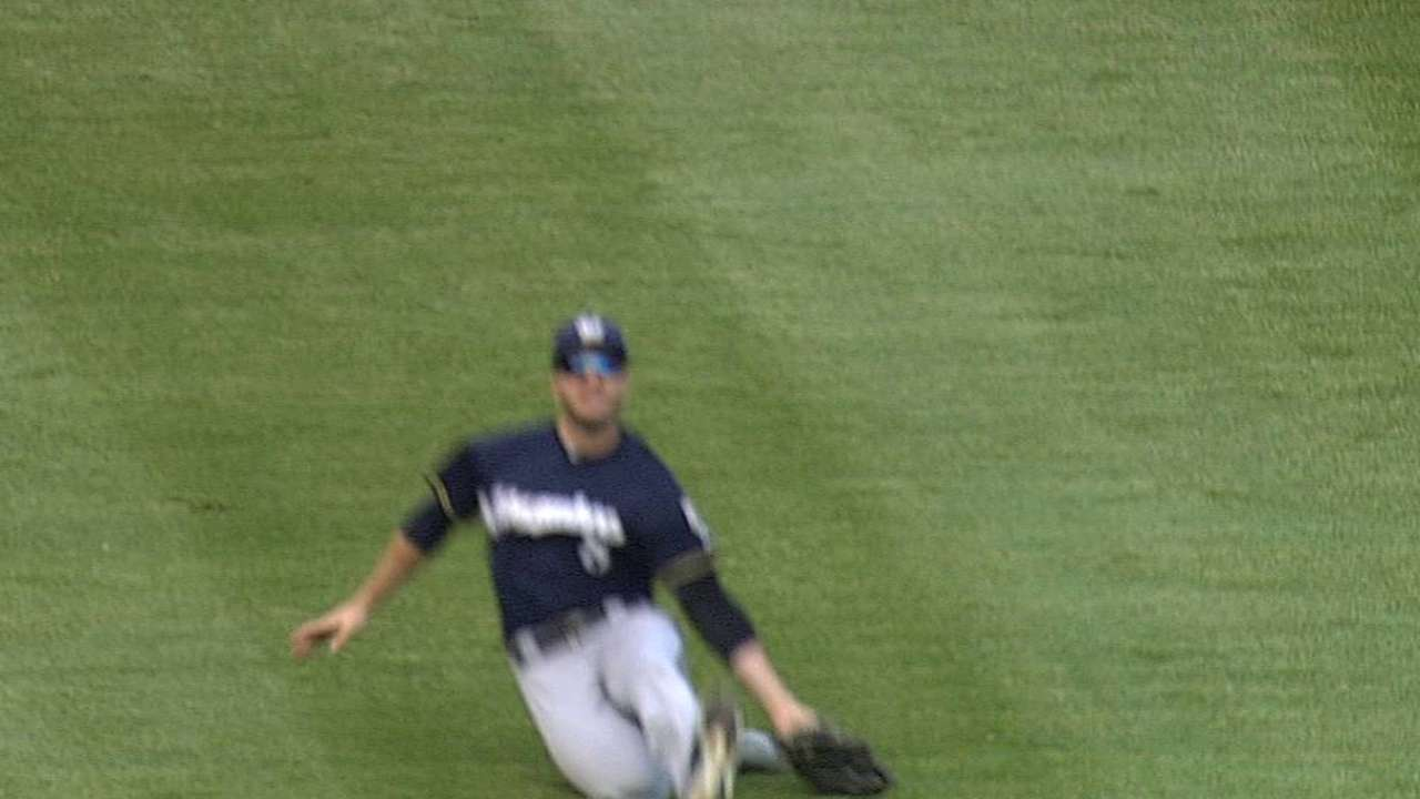 Roenicke reluctantly holds Braun out of lineup