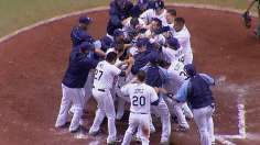 Rays answer Padres' comeback with walk-off