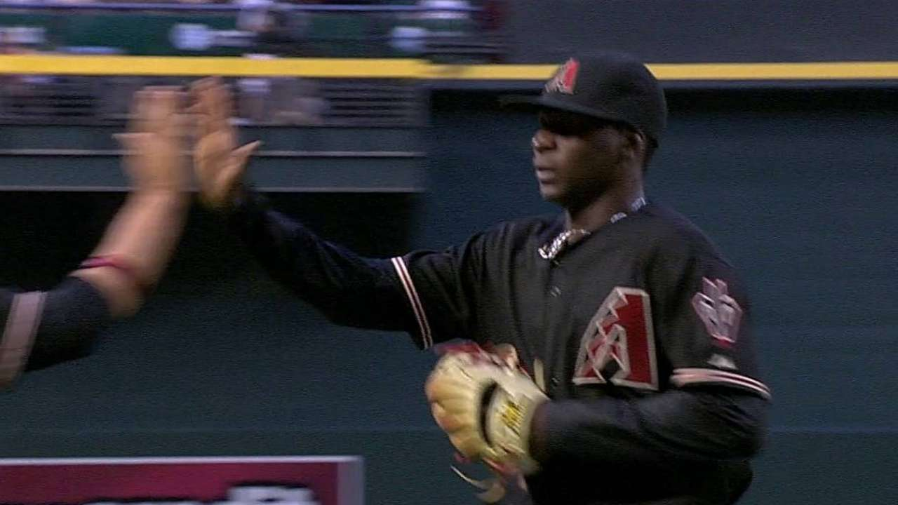 Ofensiva de D-backs fue dominada en derrota vs. Filis