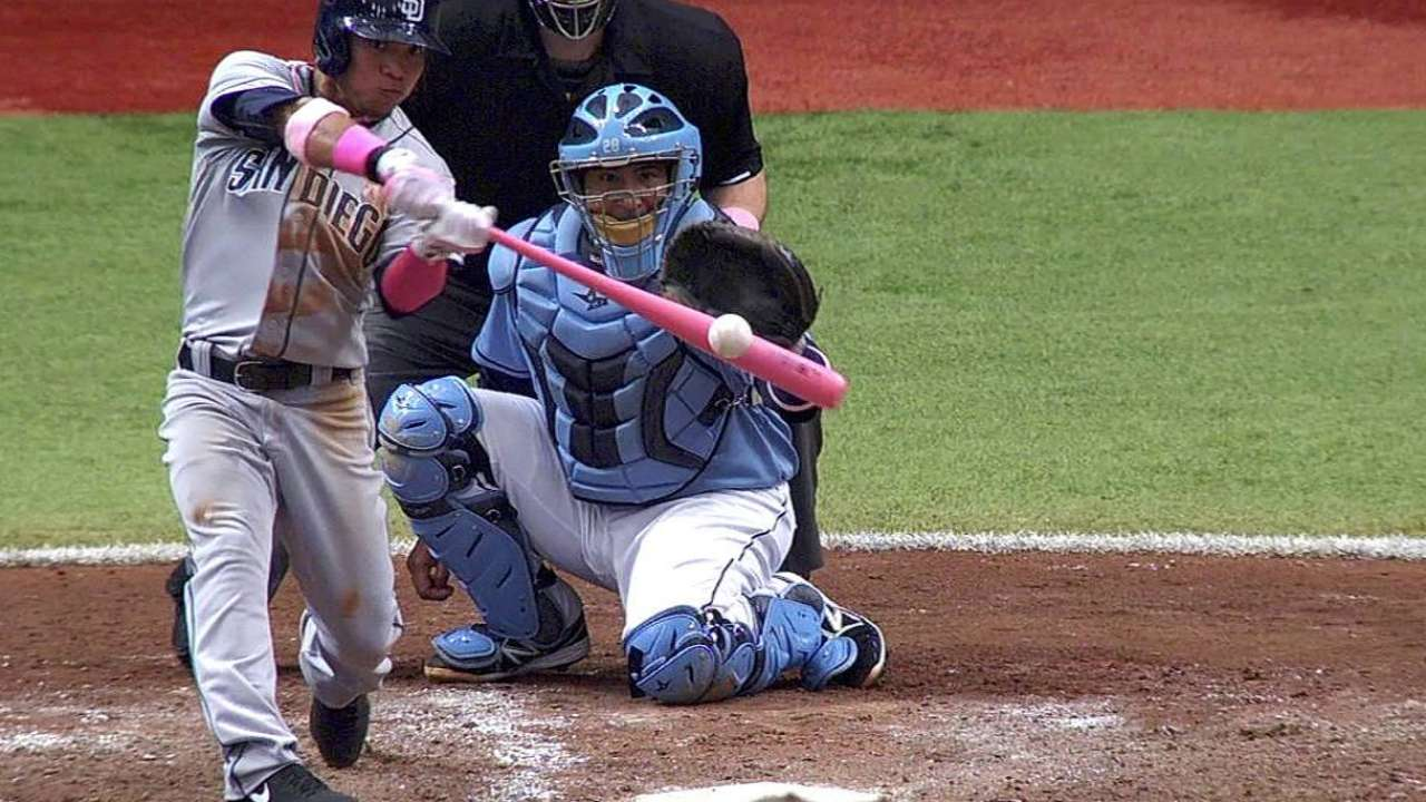 Amarista's homer highlights pink bats' productivity