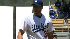 Dodgers deliver Capuano's first win, take series