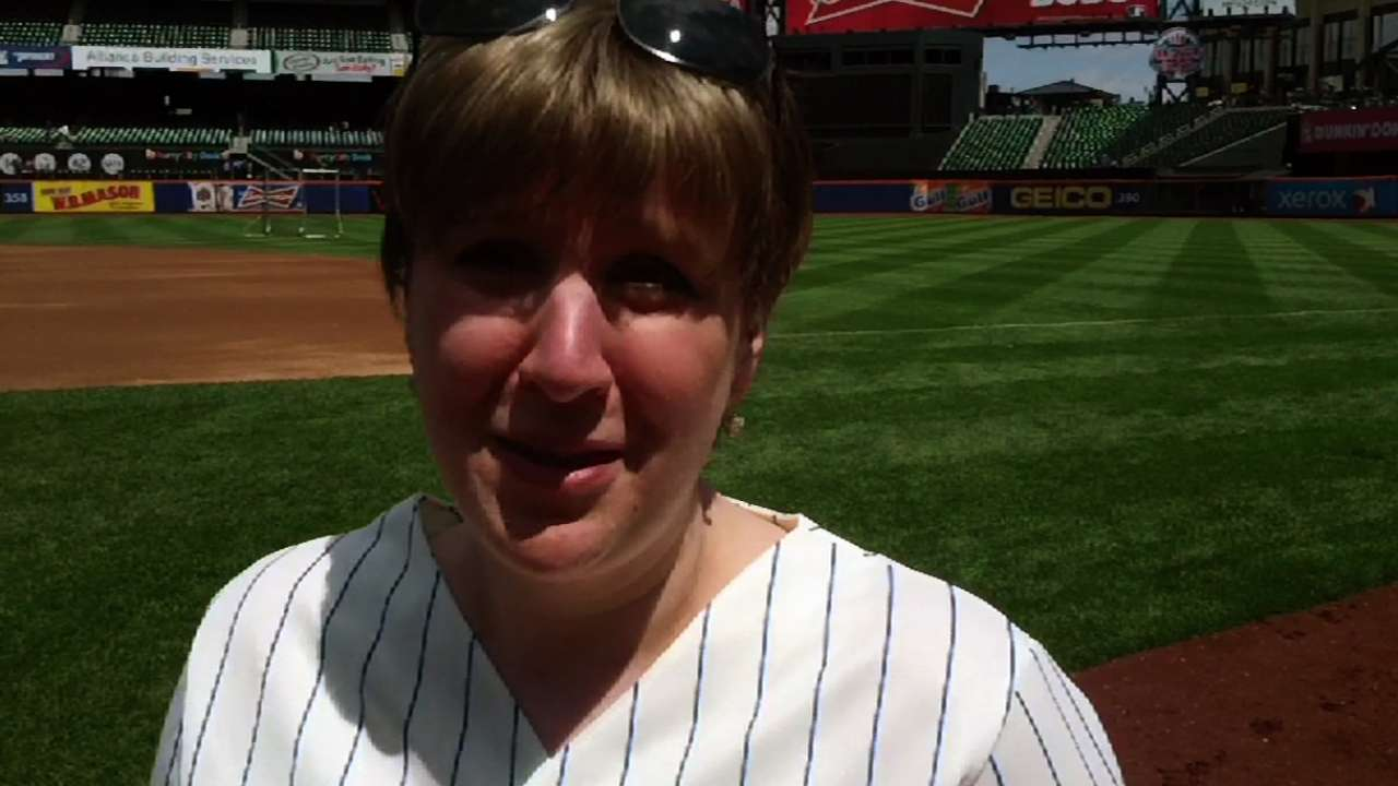 For Mets' Bat Girl, 'Ya Gotta Believe' inspirational