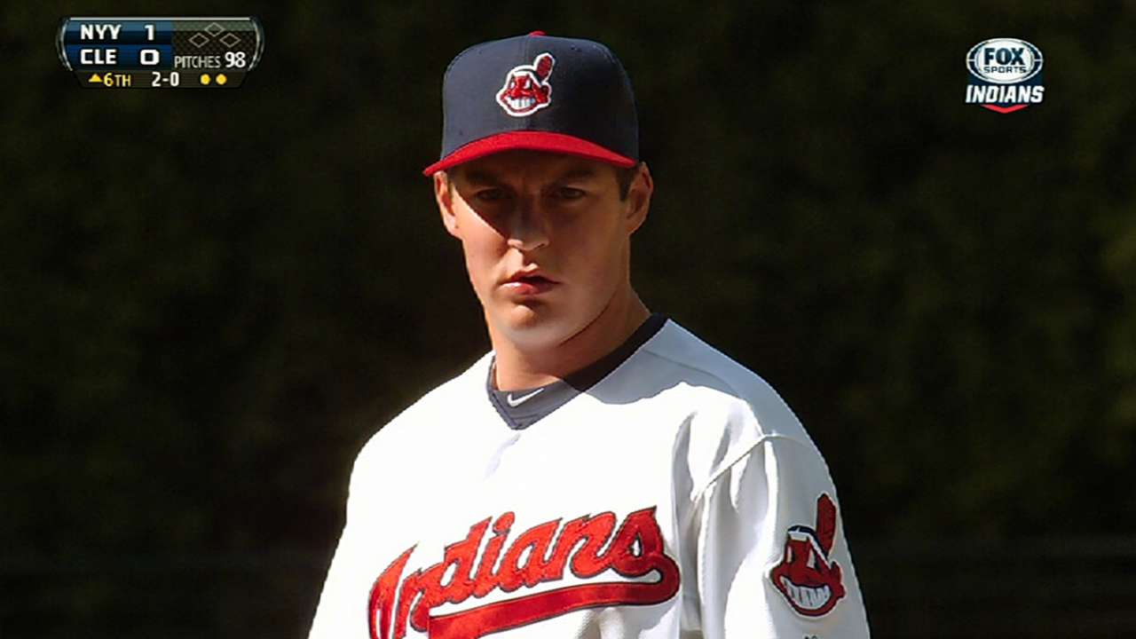 Bauer's winter workouts encouraging for Tribe