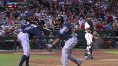 Upton homers in Arizona return as Braves cruise