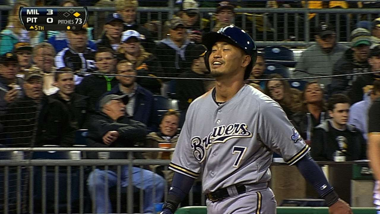 Brewers don't want to fall too far behind pace