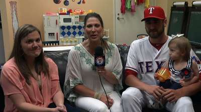 Cancer-free, Kirkman rejoins the Rangers
