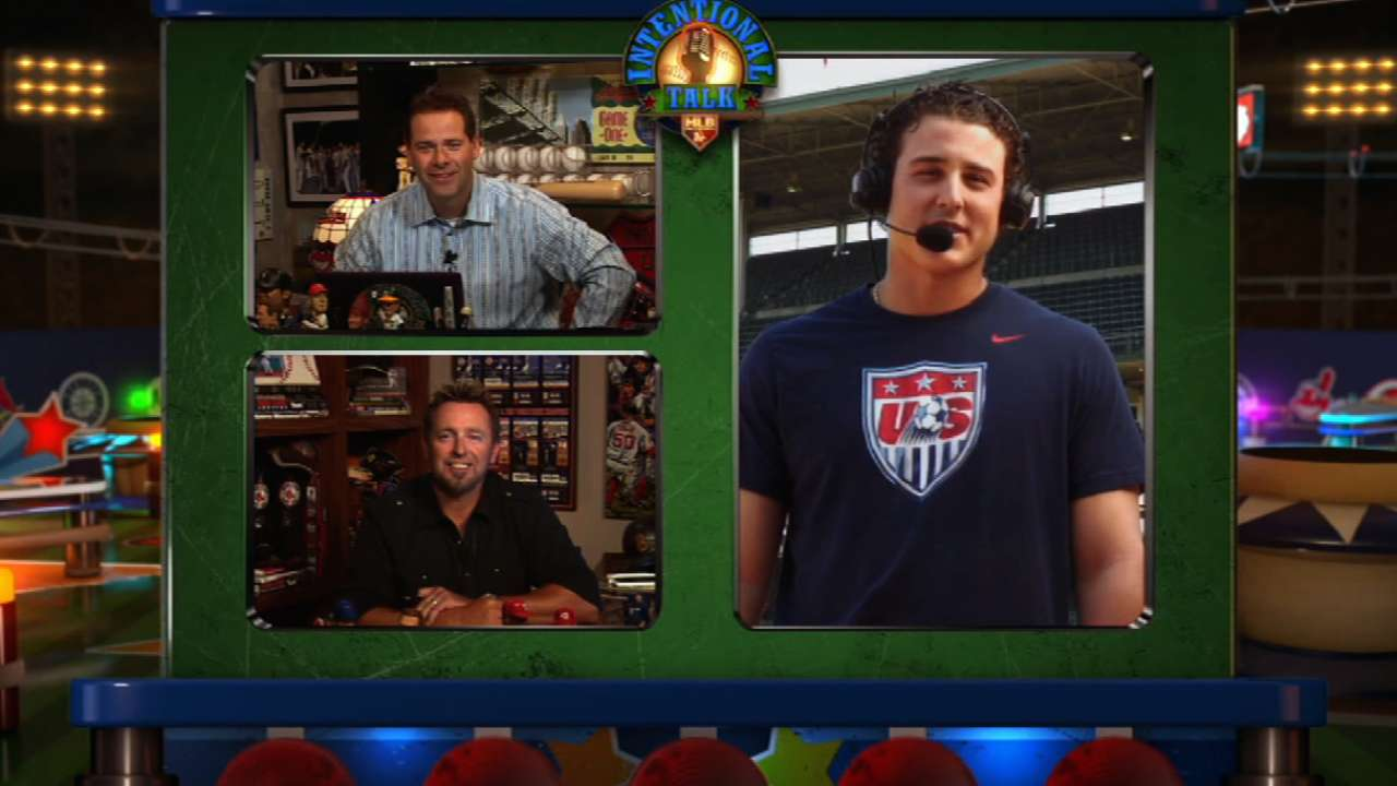 Rizzo candid on Network's 'Intentional Talk'