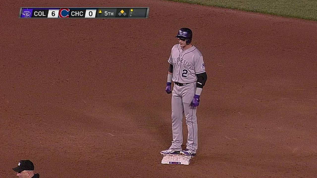Tulowitzki realizing value of occasional rest