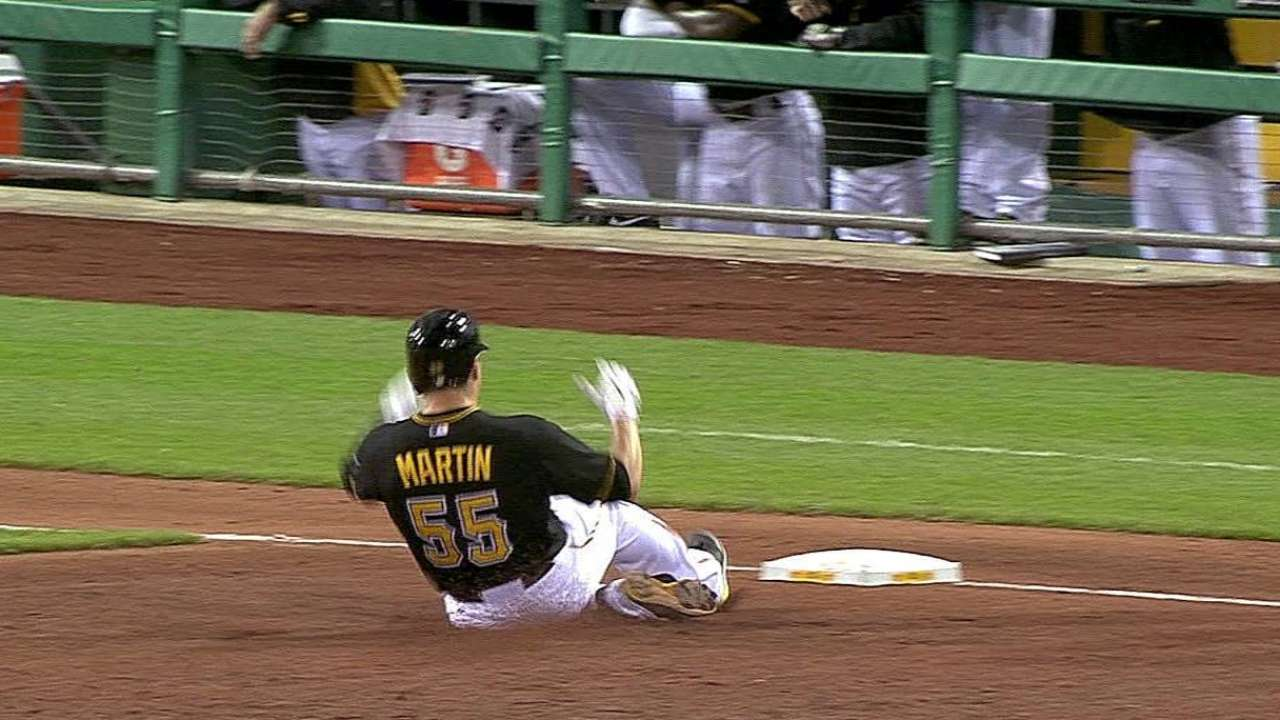 Hurdle hails Martin's tremendous defensive play