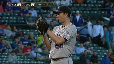 Rockies' Oswalt injured as Rockies fall to D-backs