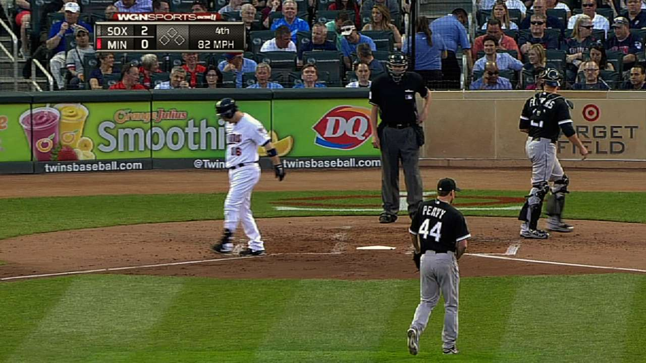 Bats support Peavy's impressive victory over Twins