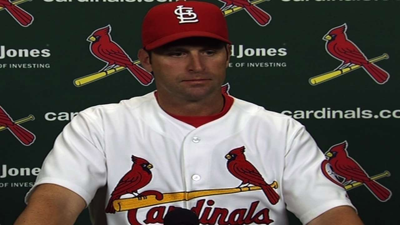 Cards' blasts punctuate Gast's debut victory