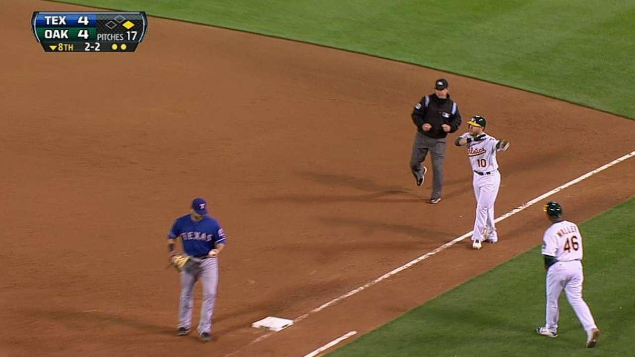 Melvin ejected from matchup with Rangers