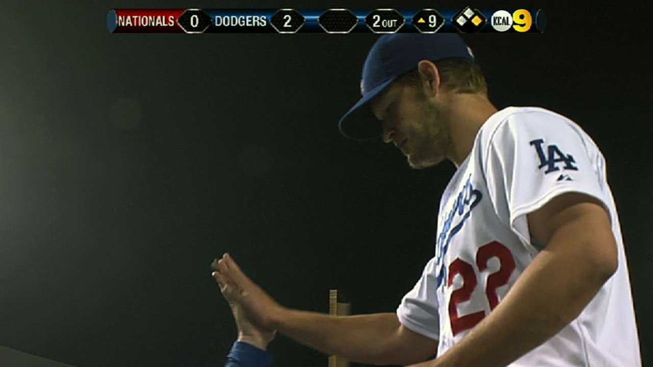 Kershaw fans 11 in dominating win over Nats