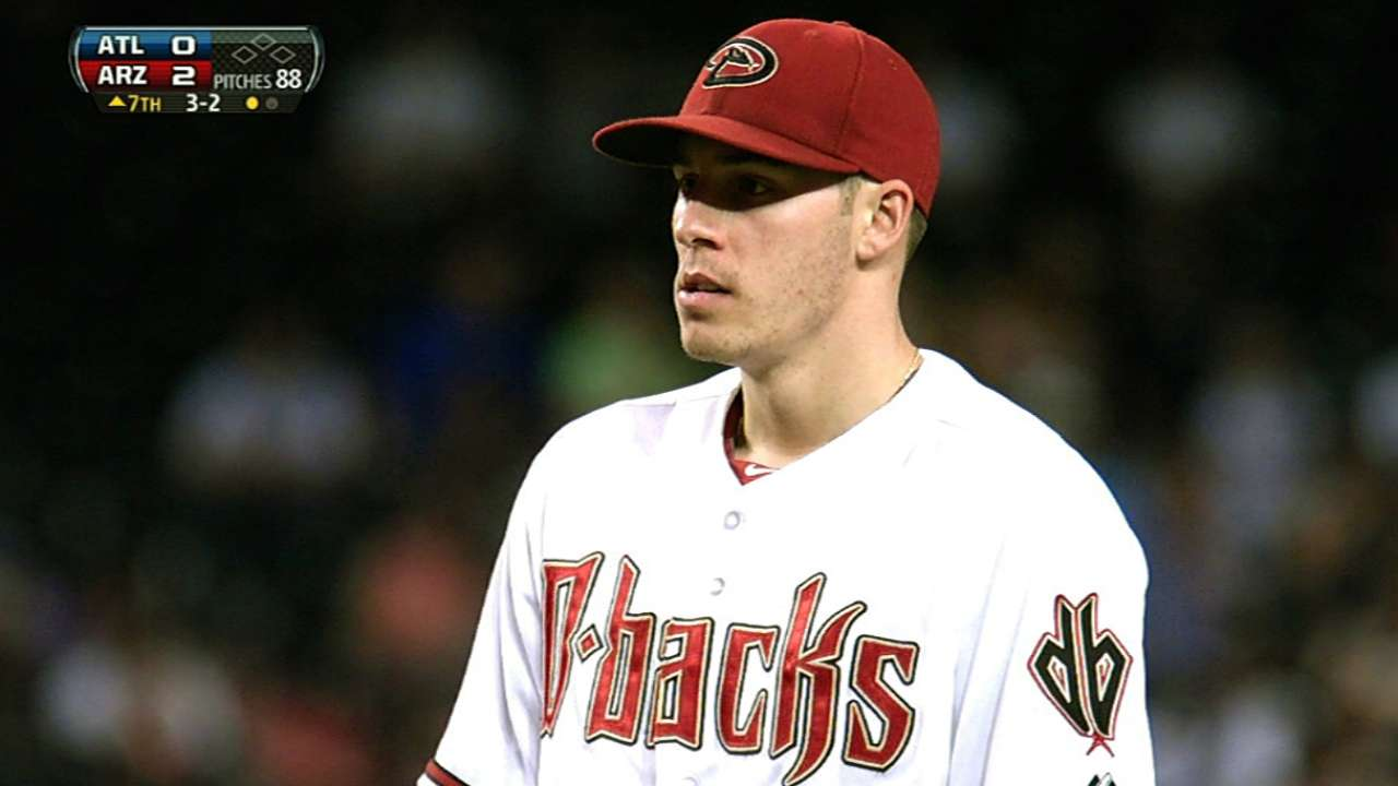 Corbin returns to site of first big league win