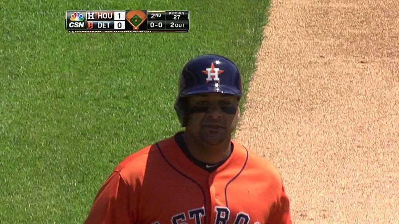 Corporán fue clave en victoria de Astros vs. Tigres