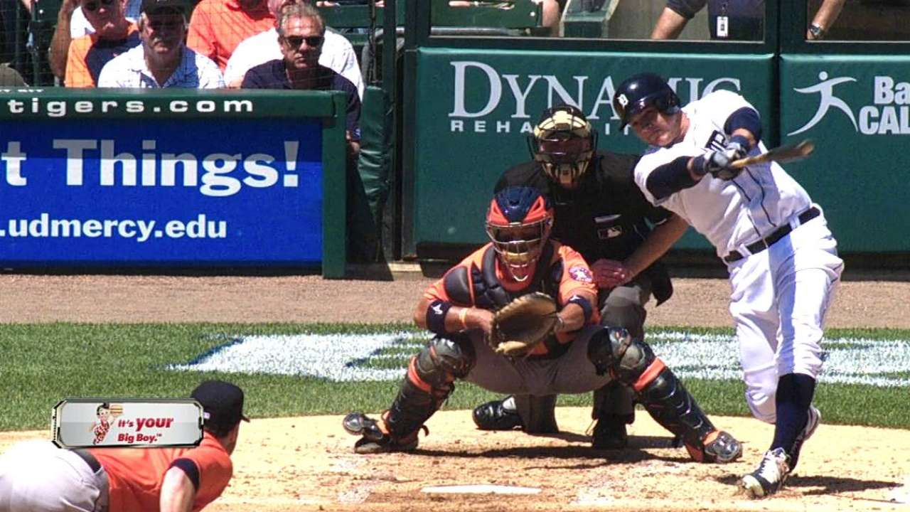 Garcia starts in center field for Tigers