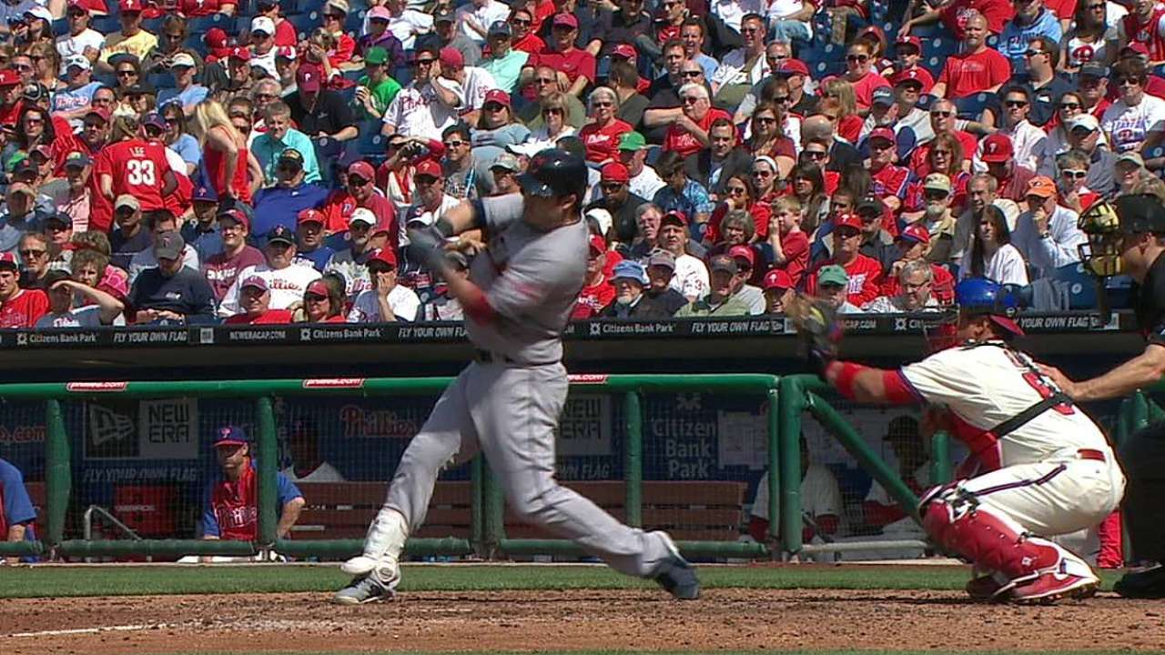 Kipnis finding success with shorter swing