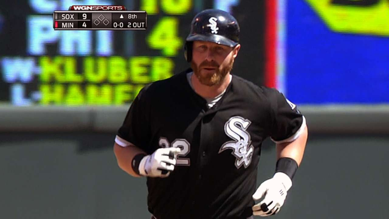Long homer proves a harbinger for Dunn