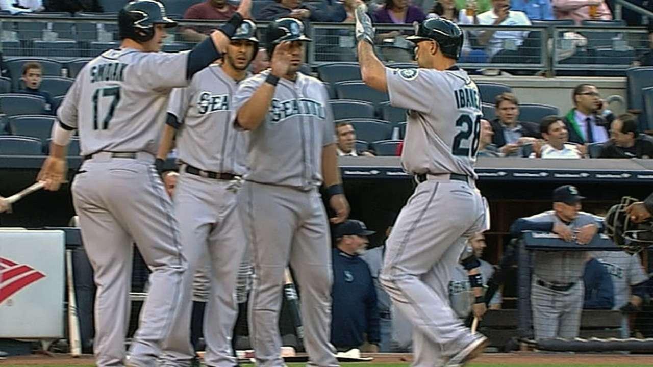 Yankees cayeron víctimas del ataque de Marineros