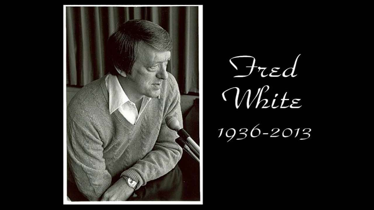 Longtime Royals radio voice Fred White dies
