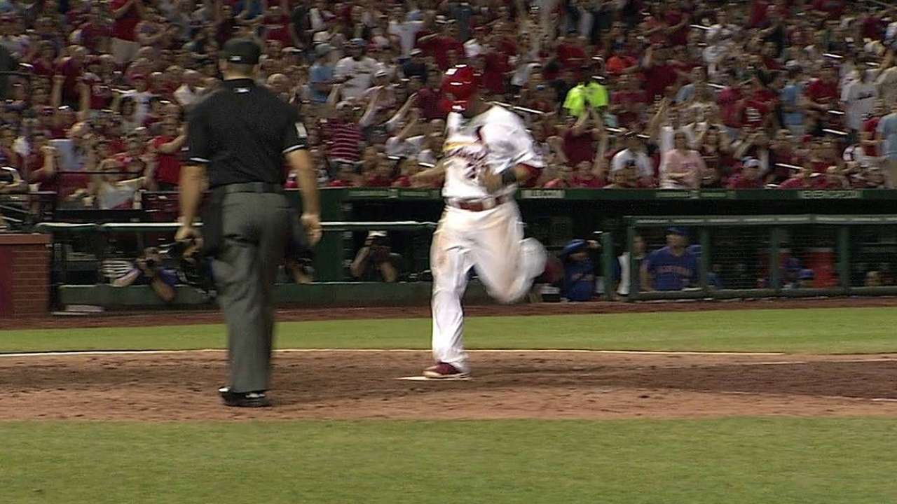 Game-winner comes in wild fashion for Cards