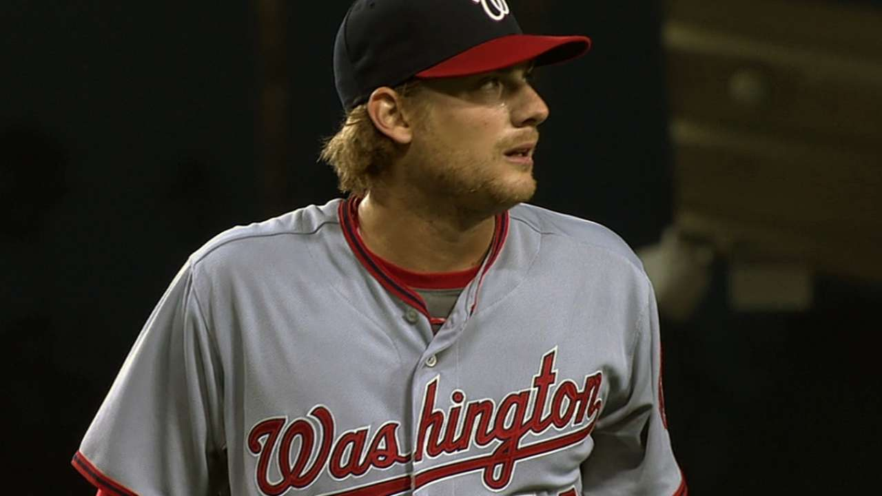 Detwiler to skip start as Nats practice caution