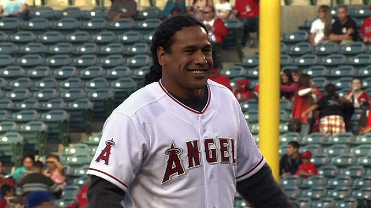 Polamalu happy to tackle first pitch in Anaheim