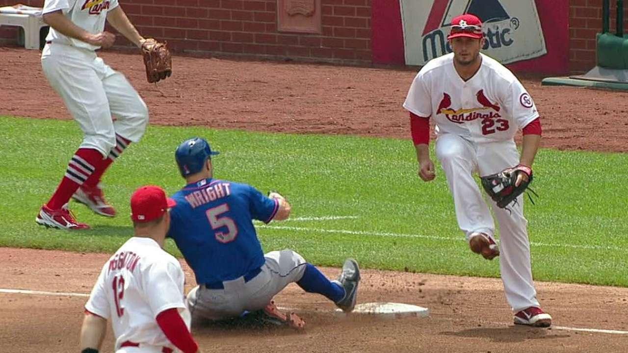 Murphy, Wright ayudaron a Mets a evitar la barrida
