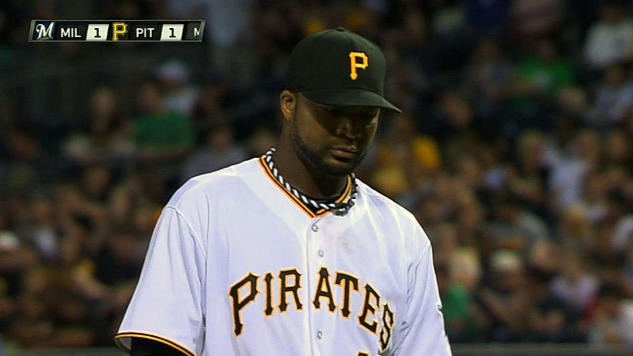 Pirates' pitchers racking up strikeouts