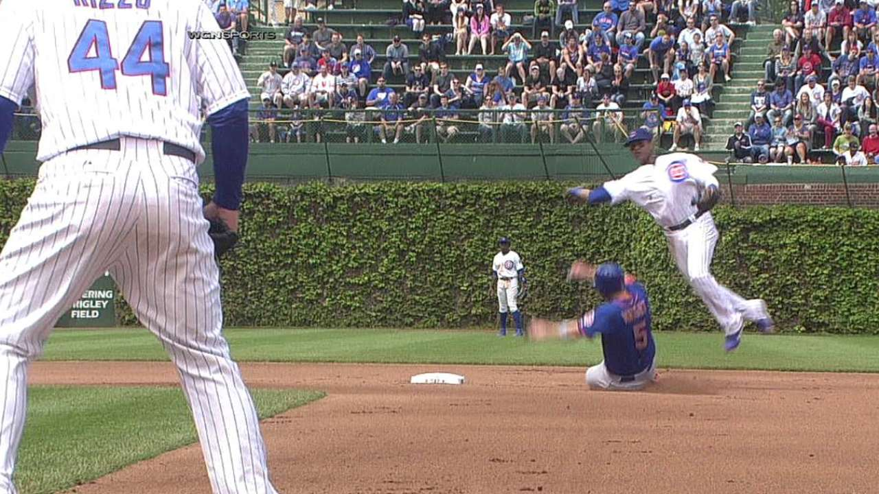 Cubs looking to eliminate defensive lapses