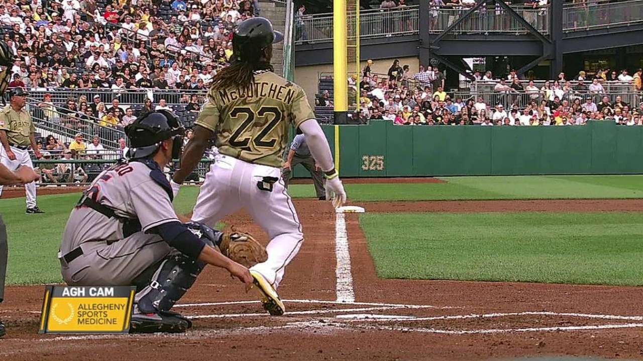 McCutchen has no structural damage in sore knee