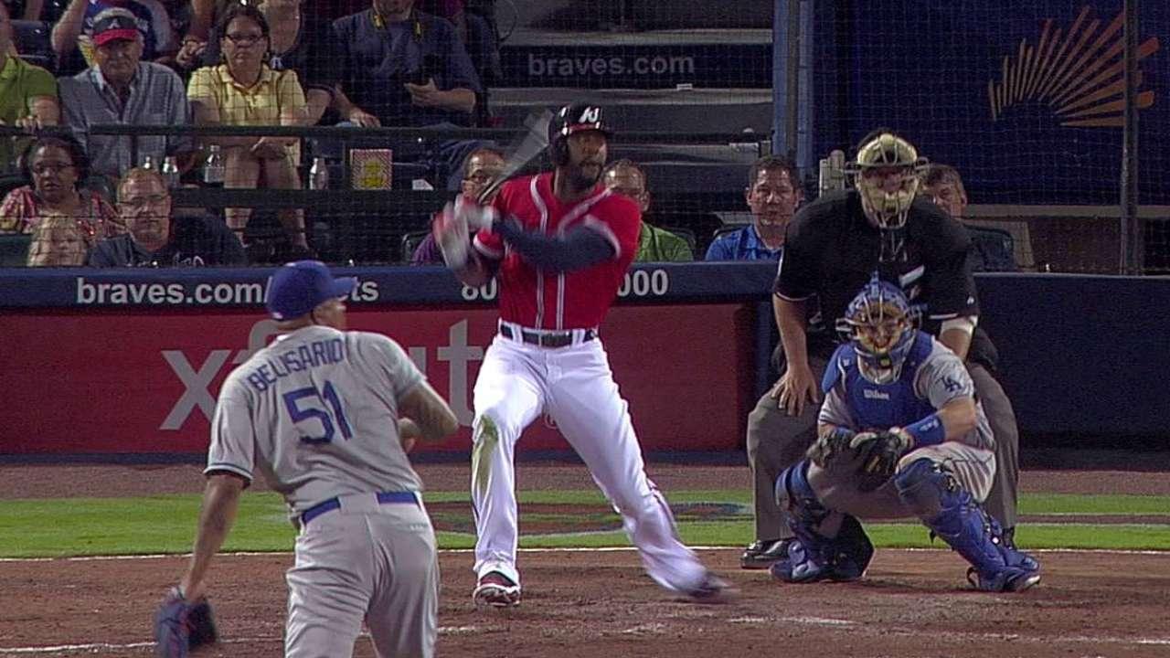 Braves reap rewards in J-Hey's return from DL