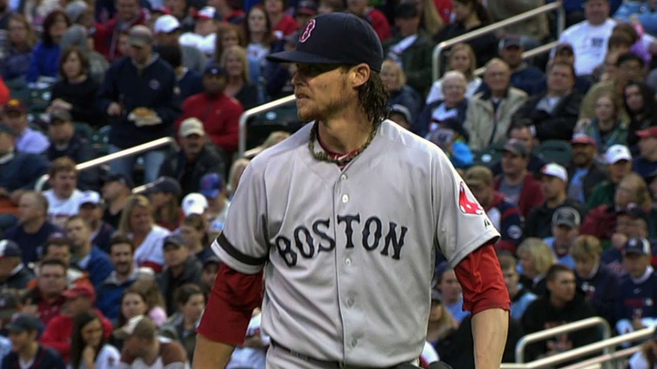 Buchholz healthy, will start Sunday night in Bronx