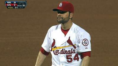 Garcia pursuing goal of returing to mound in '13