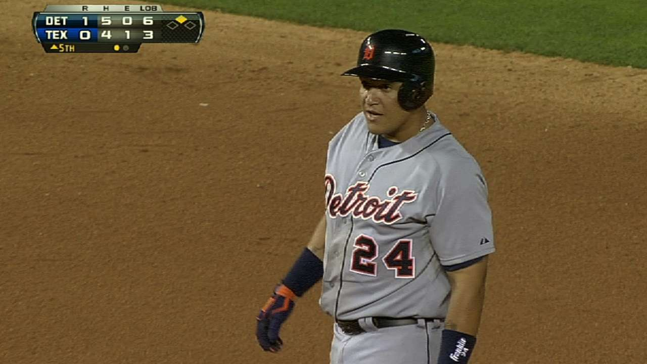 Miggy putting up big numbers again