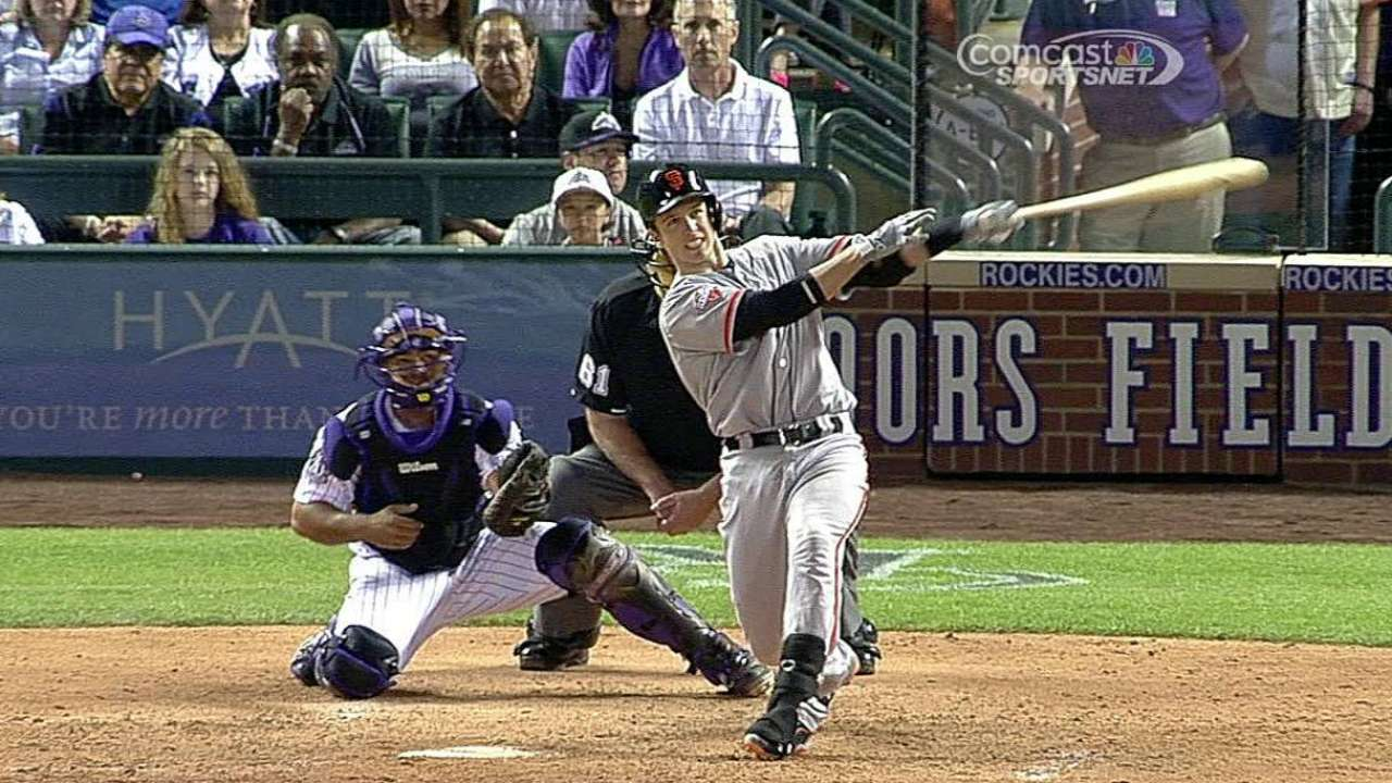 Giants drop seesaw affair with Rockies