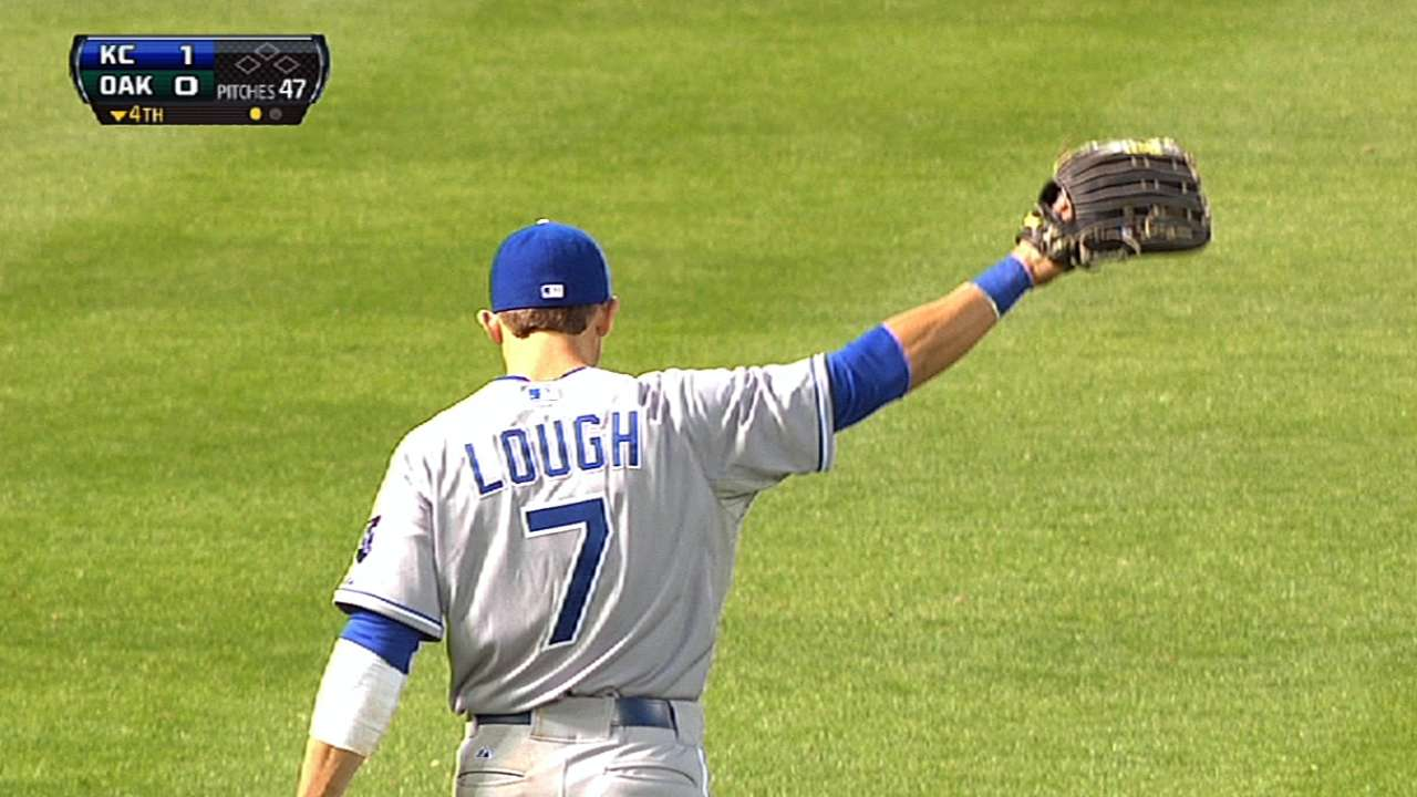 Lough called up, makes quick impact with Royals