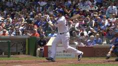Feldman uses arm and bat to subdue Mets