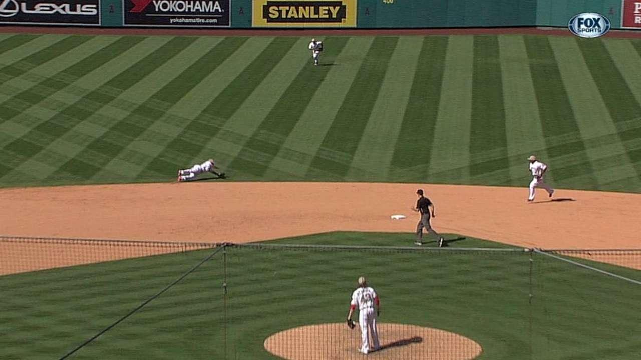 Angels le pusieron fin a racha ganadora de White Sox