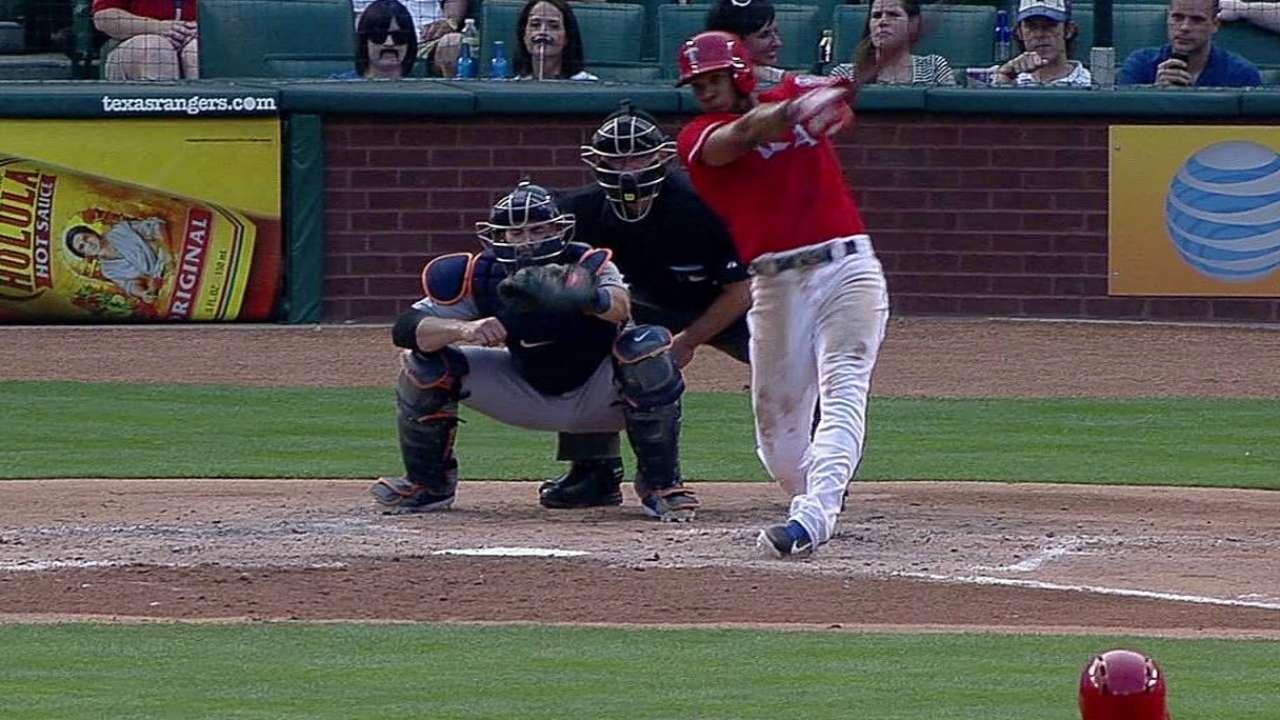 Andrus batea 5 hits en triunfo de Rangers vs. Tigres