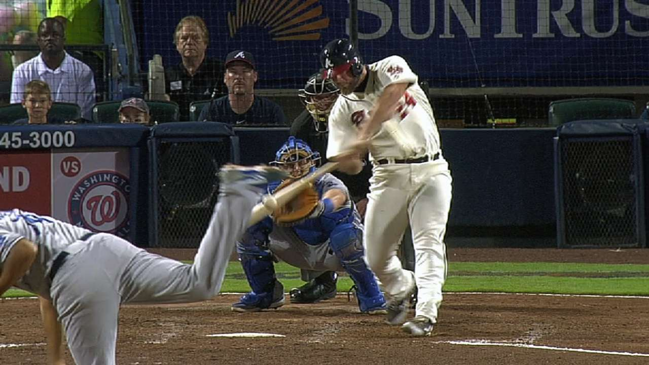 Gattis' heroics force Fredi to find him playing time