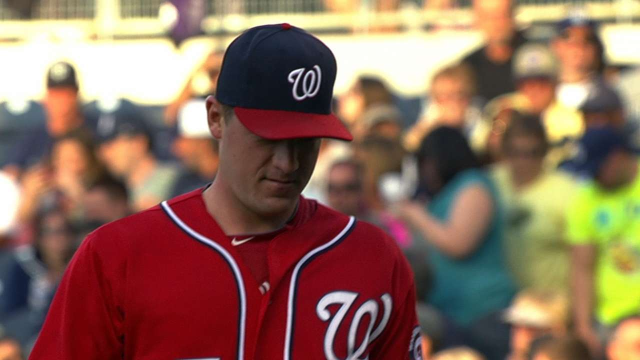 Nats offense unable to lift Zimmermann's strong start