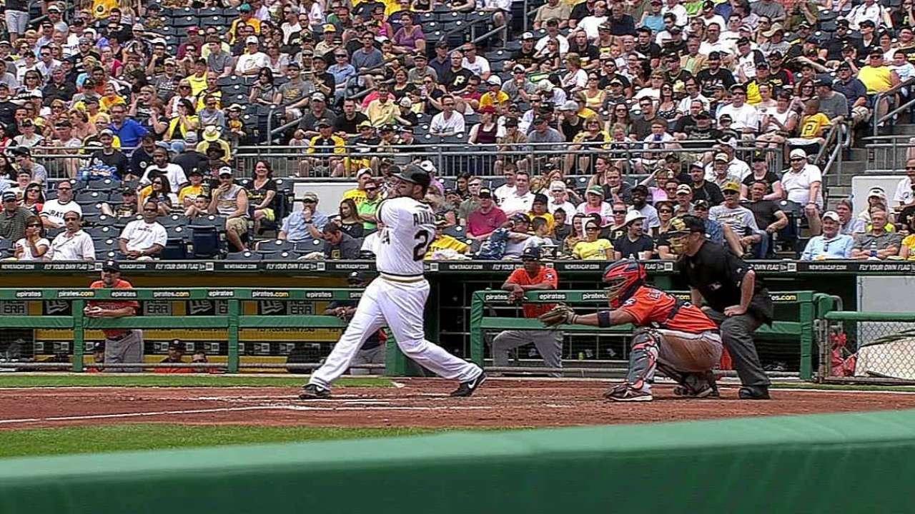 Piratas se imponen a Astros en duelo de pitcheo