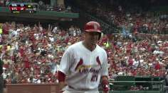Cards ride four-run fourth to take series from Brewers