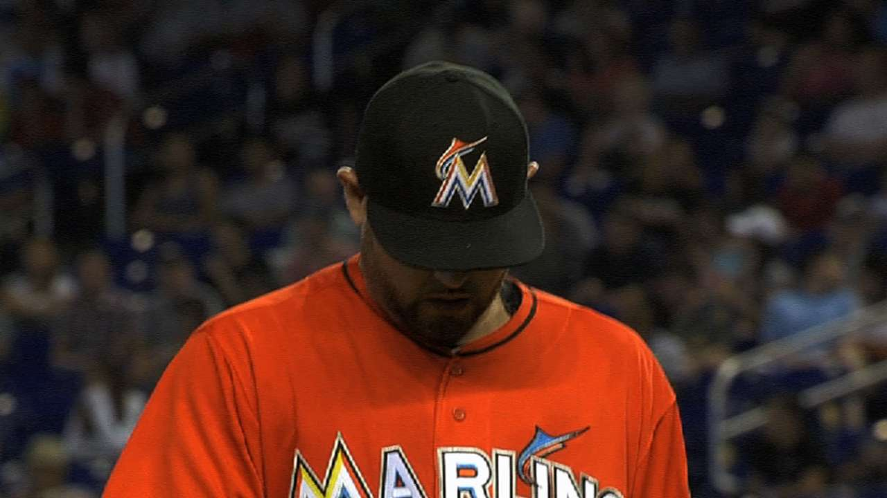 Nolasco y los Marlins lograron frenar a los D-backs