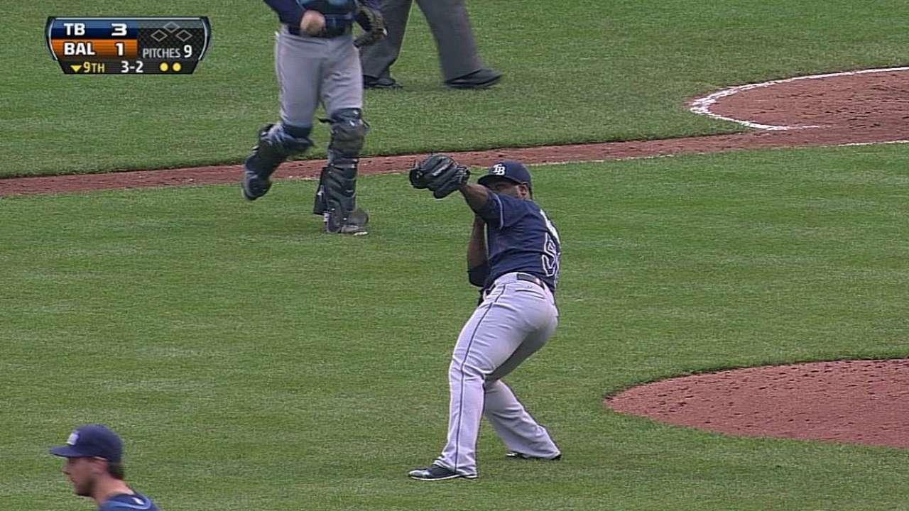 Rays barrieron a Orioles detrás del invicto Moore